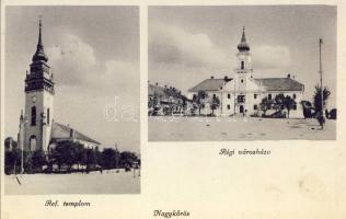 Nagykőrös, Református templom, Régi városháza, Geszner Jenő kiadása