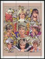 1997 Lady Diana kisívsor Mi 2714-2731