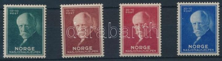1940 Nansen sarkkutató sor Mi 211-214