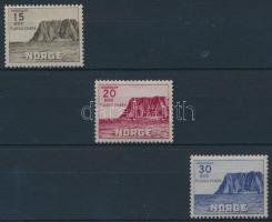 1943 Turizmus: 3. északi sarki kiadás sor Mi 284-286