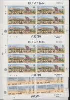 1983 Europa CEPT Az emberi elme nagy művei teljes ív sor Mi 240-241