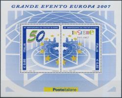 2007 Római szerződés 50. évfordulója blokk Mi 38