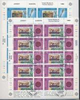 1983 Europa CEPT Az emberi elme nagy művei kisív sor Mi 299-302