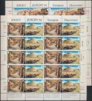 1994 Europa CEPT Találmányok, felfedezések kisív sor Mi 650-653