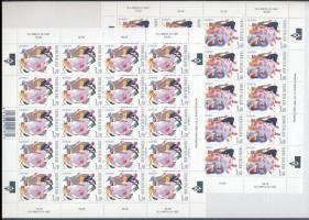 1998 Europa CEPT Nemzeti ünnepek kisív sor Mi 1432-1433