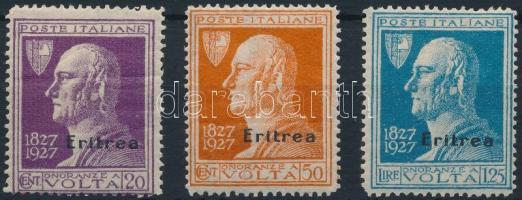 1927 Mi 125-127