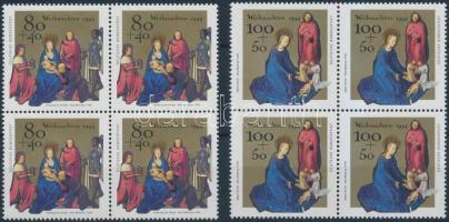 1994 Karácsony sor négyes tömbökben Mi 1770-1771