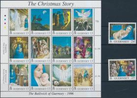 1996 Karácsony kisív + két érték Mi 713-726