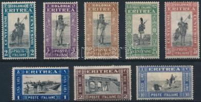 1930 8 klf Forgalmi érték Mi 153-155, 157-160, 162