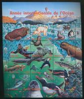 International Year of the Ocean full sheet, Nemzetközi Óceán Év teljesív
