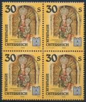 Műalkotások kolostorokból négyestömbökben, Works of monasteries block of 4