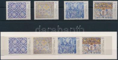 Christmas set + stamp booklet, Karácsony sor + bélyegfüzet