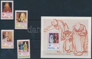 1979 Nemzetközi gyermekév sor Mi 462-465 + blokk Mi 17