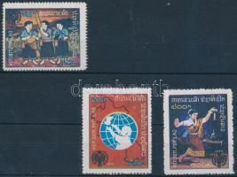 1979 Nemzetközi gyermekév sor Mi 486-488 A
