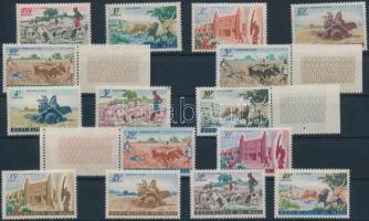 1961 Forgalmi sor Mi 30-44