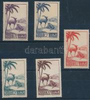 1939 Forgalmi sor 5 értéke Mi 139-175