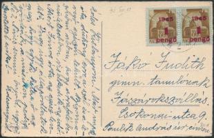 1945 (2. díjszabás) Távolsági képeslap