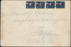 1945 (2. díjszabás) Helyi levél