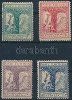 1928 Afrikai vállalatok sor Mi 128-131