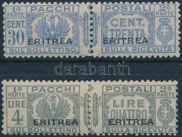 1927 2 pár Csomagbélyeg Mi 24, 30