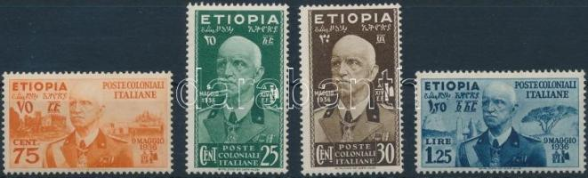 Definitive 4 diff stamps 4 klf Forgalmi érték