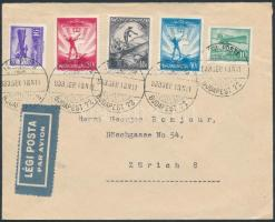 1933 Légi levél Svájcba / Airmail cover to Switzerland