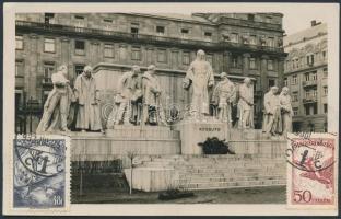 1933 TCV légi képeslap Németországba / TCV airmail postcard to Germany