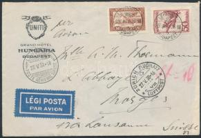 1930 Légi levél Svájcba / Airmail cover to Switzerland