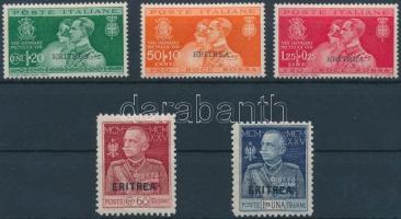 1925-1930 2 érték és 1 sor Mi 101-102 C + 163-165