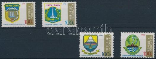 Provincial crests set, Tartományi címerek sor