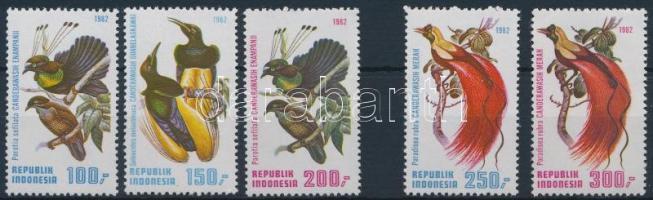 Birds of Paradise set, Paradicsommadarak sor