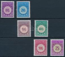 1977-1979 1 set + 1 individual value, 1977-1979 1 sor + 1 önálló érték