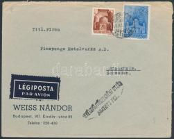 1943 Légi levél Svédországba