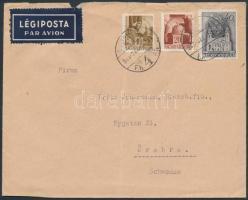 1943 Cenzúrás légi levél Svédországba