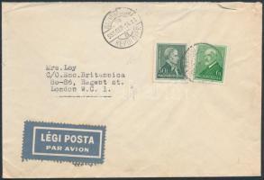 1935 Légi levél Londonba