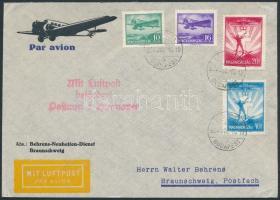 1933 Légi levél Németországba / Airmail cover to Germany