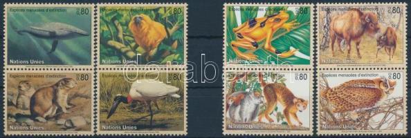 1994-1995 Endangered animals 2 diff sets, 1994-1995 Veszélyeztetett állatok 2 klf sor