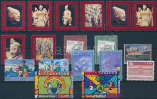 1997-1999 2 diff stamps + 6 diff sets, 1997-1999 2 klf bélyeg + 6 klf sor