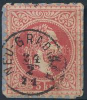 """""""NEU-GRADISKA"""" Austria-Hungary-Croatia postmark """"NEU-GRADISKA"""""""