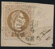 """""""NYITRA-(ZSÁMBOKR)ÉT"""" Austria-Hungary-Slovakia postmark """"NYITRA-(ZSÁMBOKR)ÉT"""""""