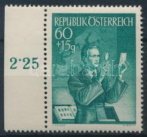Stamp Day margin, Bélyegnap ívszéli
