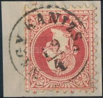 "Austria-Hungary postmark ""NAGY-KANIZSA"" ""NAGY-KANIZSA"""