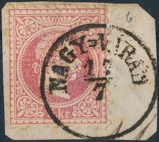 "Austria-Hungary-Romania postmark ""NAGY-VÁRAD"" ""NAGY-VÁRAD"""