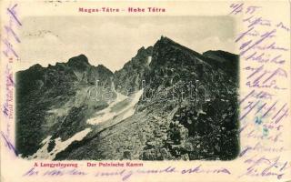 Tátra, Tatra; Lengyelnyereg, kiadja Divald Adolf / mountainpass (Rb)