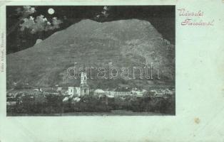 Tiszolc, Tisovec; látkép, éjszaka, kiadja Kohn Albert / general view, by night (EB)