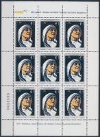 Mother Teresa minisheet, Teréz anya kisív