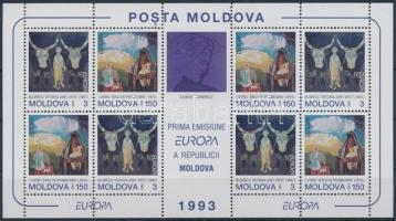 1993 Europa CEPT kisív Mi 94-95