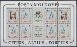 1994 100 éves a Nemzetközi Olimpiai Bizottság kisív Mi 126-127