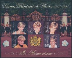 1998 Lady Diana blokk Mi 17