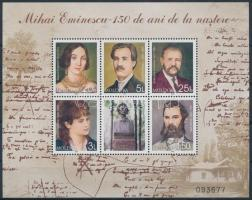2000 Mihai Eminescu blokk Mi 21